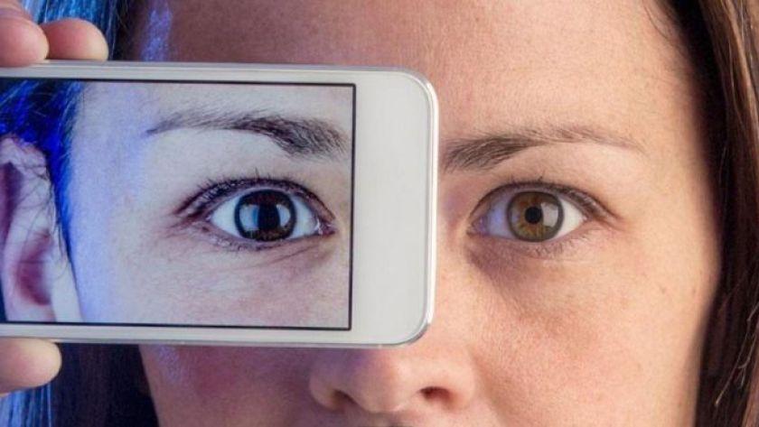 akıllı telefon ve yüz