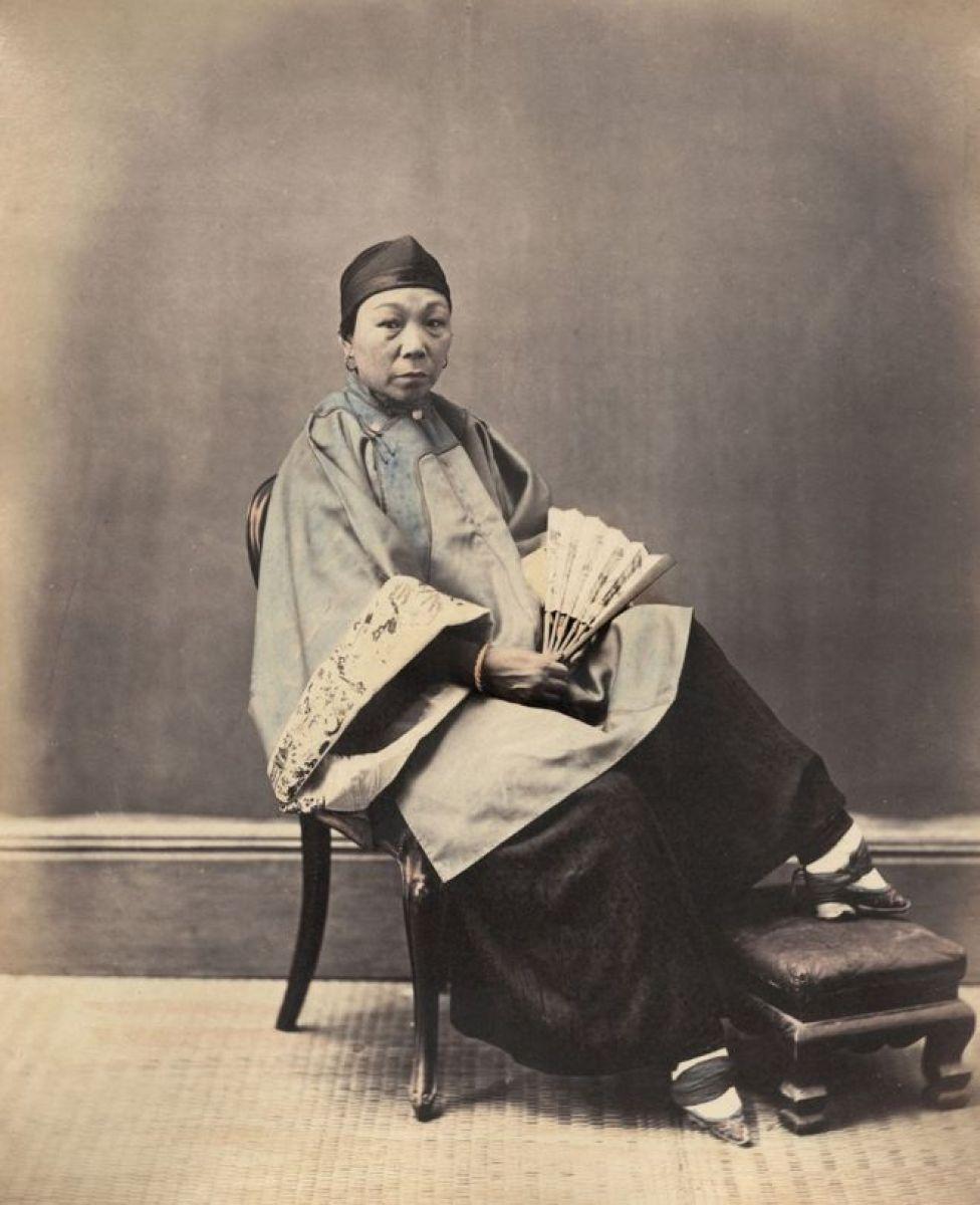 Una mujer de Shanghai