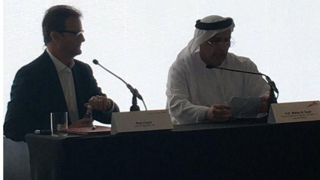 Rob Lloyd and Mattar al-Tayer