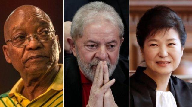 Jacob Zuma, Lula e Park Geun-hye