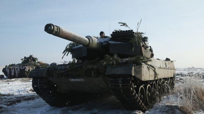 German Leopard tank, 2014 file pic