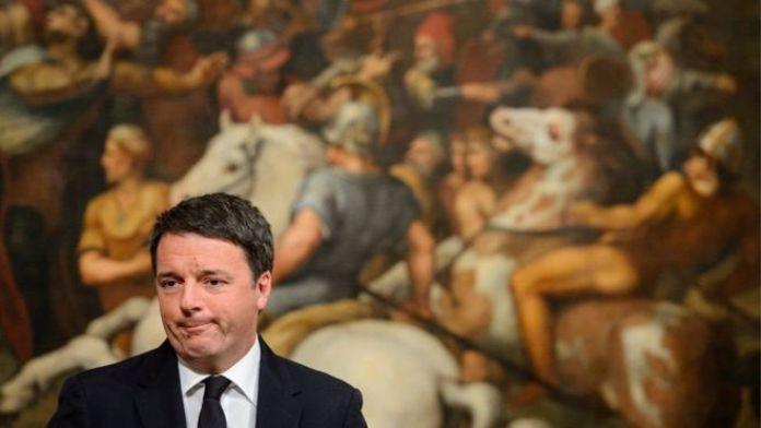 Matteo Renzi, Ra'iisul wasaaraha xilka ka degay