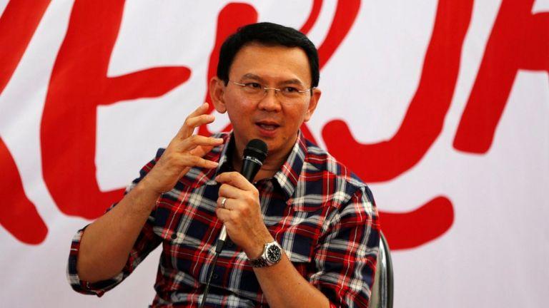 Ông Purnama tìm kiếm nhiệm thống đốc Jakarta thứ hai.