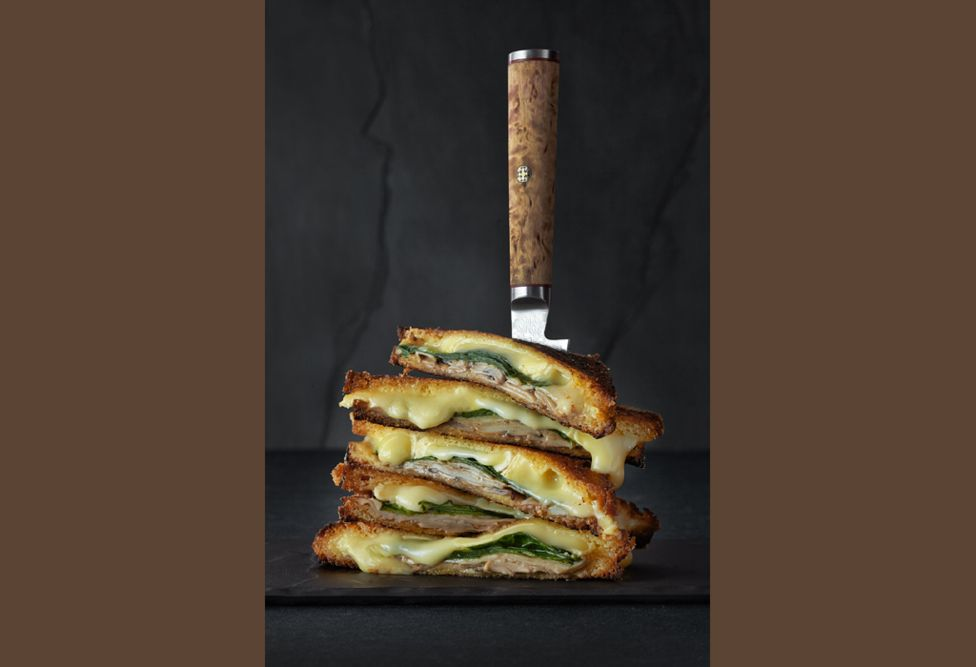 Chicken Cheese toastie - by Jean Cazals (UK)