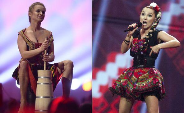 O yılki Eurovision'da çoğu izleyici için Polonyalı yarışmacılar Donatan ve Cleo kısa etekleri, göğüs dekolteleri ve davetkar bir şekilde yayık ayranı hazırlayışıyla akıllarda kaldı.