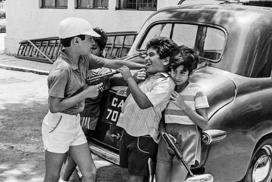 Gun battle at Cusrow Baug, Bombay 1985