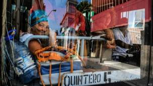 Autobús en Cuba