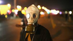 gases lacrimógenos