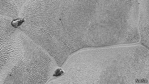 Agua helada en Plutón