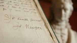 Manuscrtos de Isaac Newton