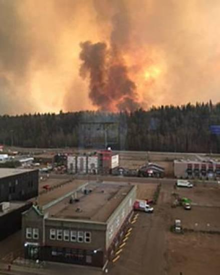 Incendio en Fort McMurray, Canadá