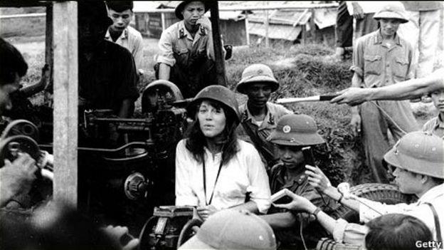Nữ diễn viên Jane Fonda tại Hà Nội năm 1972