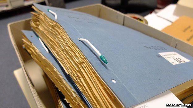 Папки с медицинскими документами