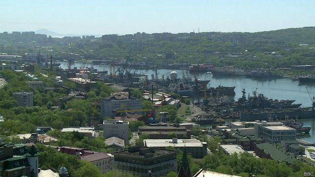 Panorama de Vladivostok
