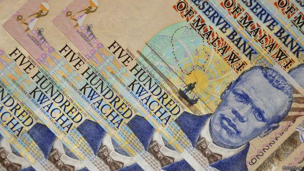 Este billete de Malawi, sureste de África, equvale a US$ 2,17.