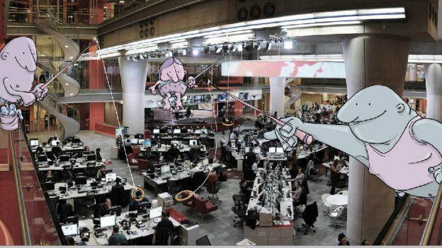 A solicitud de BBC Brasil, por ejemplo, Levitán intervino esta panorámica de la sala de redacción de la BBC. Pero los interesados deben de tener paciencia: el brasileño tiene actualmente más de 85.000 seguidores en Instagram. Y también dice estar recibiendo cada vez más ofertas de trabajo de agencias de publicidad y marcas interesadas en el proyecto.