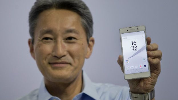 el CEO de Sony presenta el Experia Z5