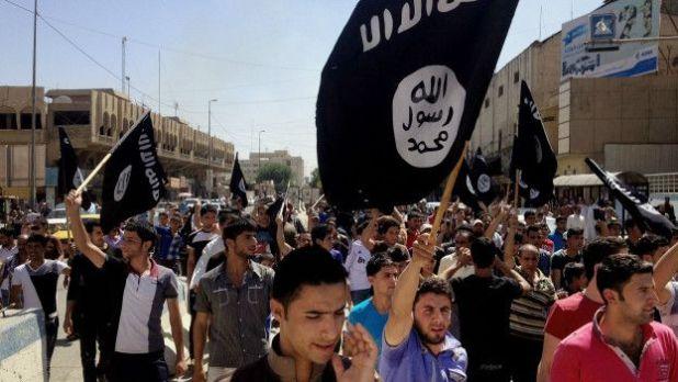 Adeptos de Estado Islámico en Mosul