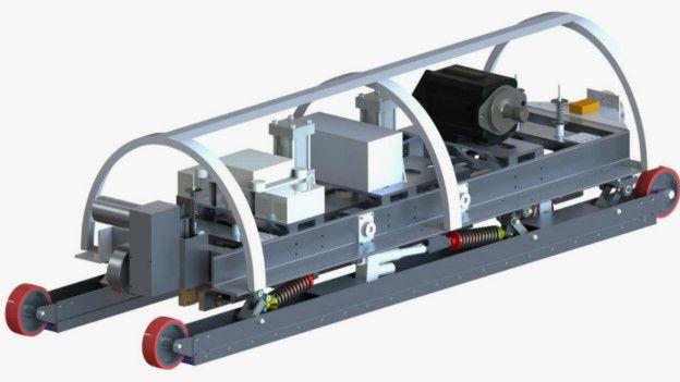 Cápsula de MIT para el hyperloop