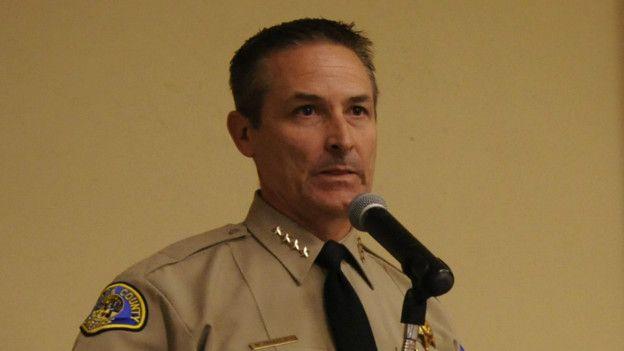Alguacil Mike Boudreaux