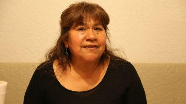 María del Carmen, madre de Gabriela Esparza