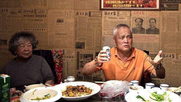 restaurante en China