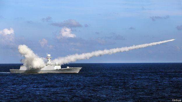 Trung Quốc diễn tập quân sự tại Biển Đông