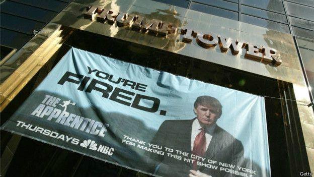 除了兴建纽约地标特朗普大厦,特朗普还主持《实习生》节目
