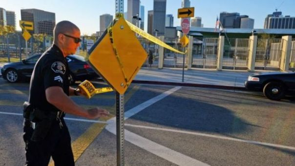 Policía en Los Angeles