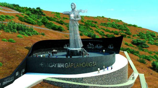 Thiết kế Đài tưởng niệm Hoàng Sa ở đảo Lý Sơn