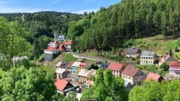 A pequena cidade checa de Jáchymov