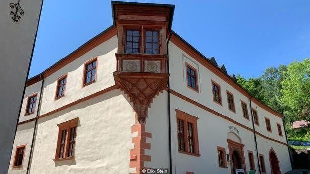 O museu da Casa da Moeda de Jáchymov