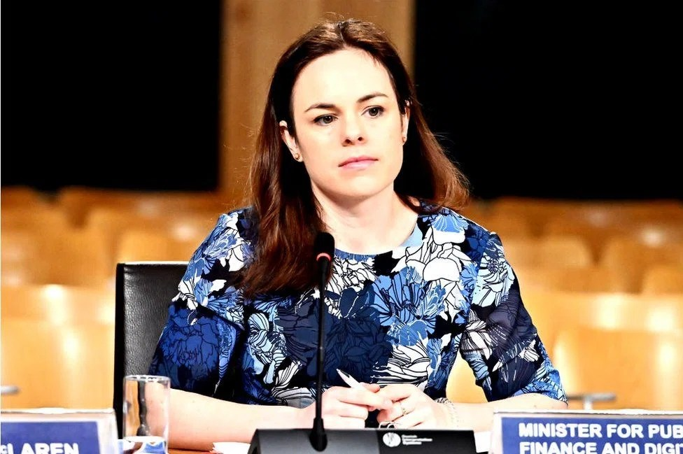 Finance secretary Kate Forbes