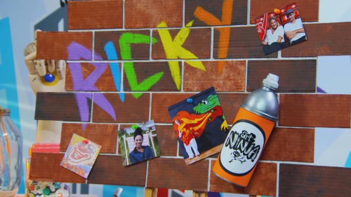 art ninja make a