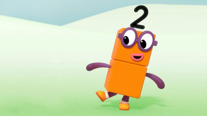 numberblocks the two song