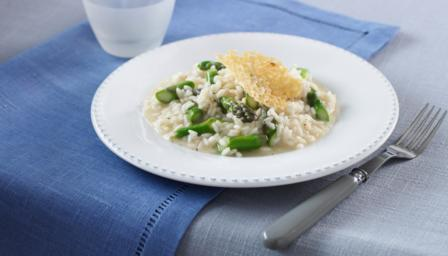 Image result for risotto with asparagus