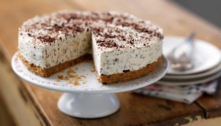 Baileys and chocolate cheesecake