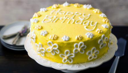 Birthday Cake Recipe Bbc Food