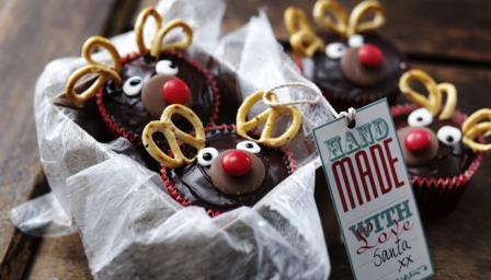 Pastelitos de Navidad del reno