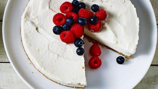 Tasty Lemon Tofu Cheesecake