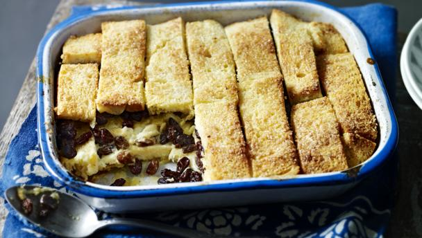 mary berry s mother bread and butter pudding by