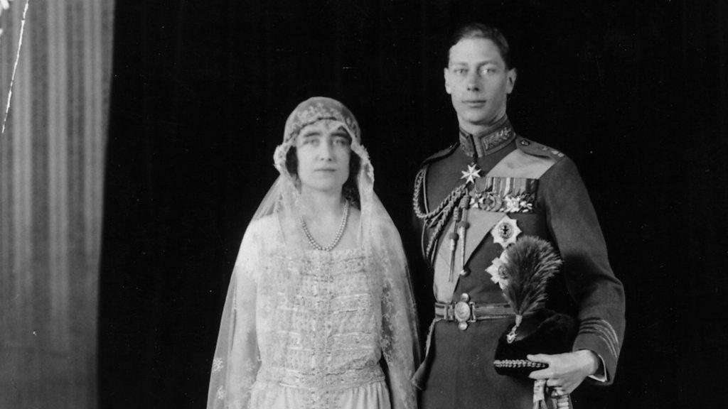 歷史上的英國王室婚禮:喬治六世與伊麗莎白·鮑斯—萊昂(1923) - BBC News 中文