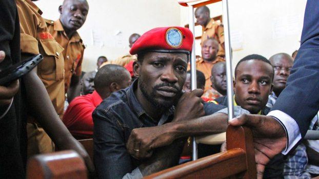 Bobi Wine after alleged torture