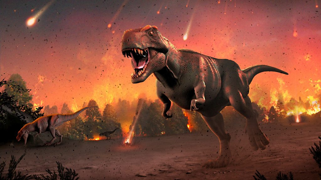 "Dinosaur extinction: ""The asteroid attack was a real culprit"" - BBC News"