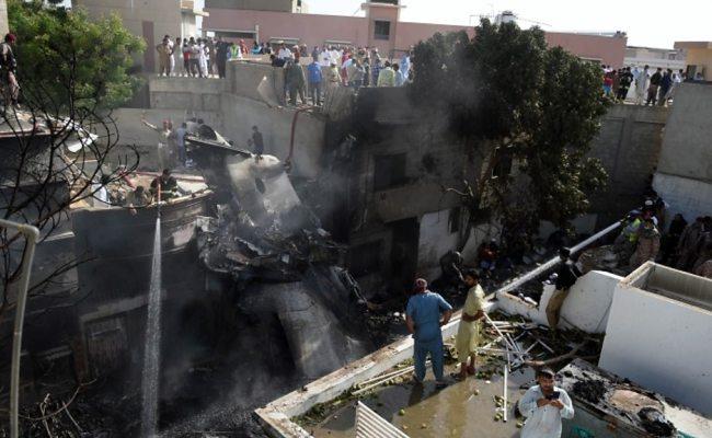 Pakistan Plane Crash Survivor All I Could See Was Fire