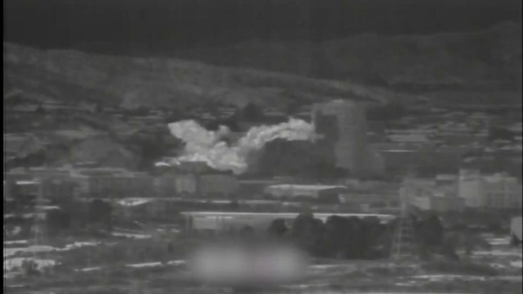 N Korea blows up joint liaison office with South