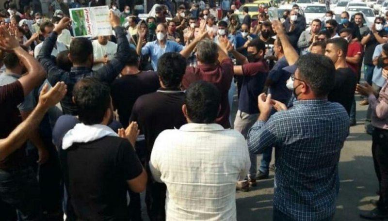 پنجمین روز از اعتراضات گسترده کارگران نفت، گاز و پتروشیمی ایران ...