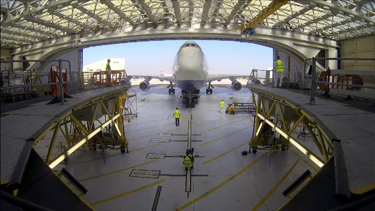 BBC Two  Airport Live The role of an Aircraft Maintenance Supervisor for British Airways
