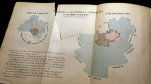 BBC Four  The Beauty of Diagrams, Florence Nightingale, Florence Nightingale's rose diagram