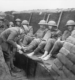 bbc bitesize what was life like in a world war one trench wwi gas attak  survivor wwi trench diagram bbc